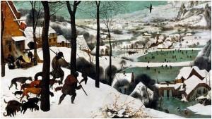 Hunters in the Snow, Pieter Bruegel cel Bătrân (1565)