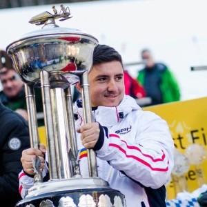 "Mihai Cristian Tentea a fost premiat cu trofeul ""Rookie Trophy"" la Königssee"
