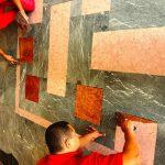 Restaurarea pietrei naturale din clădirile de patrimoniu